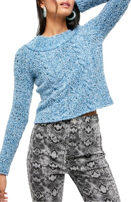 Free People Avalon Off the Shoulder Sweater