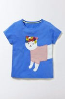 Girl's Mini Boden Animal Pal Tee