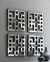 Four Fretwork Mirrors