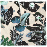 Christian Pellizzari floral print scarf - men - Viscose - One Size