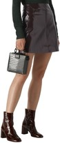 Whistles PATENT A LINE SKIRT