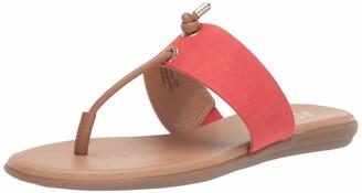 Aerosoles A2 Women's CHLEAR Sight Flip-Flop Orange Combo 7.5 M US