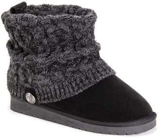 Muk Luks Lilleth Women's Water Resistant Ankle Boots