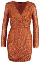 Missguided PEACE+LOVE Cocktail dress / Party dress copper