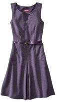 Merona Petite Sleeveless Belted Ponte Dress - Assorted Colors