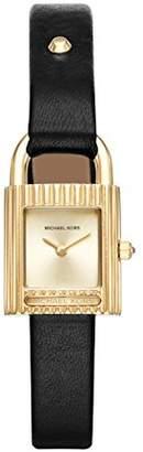 Michael Kors Womens Quartz Watch with Leather Strap MK2692