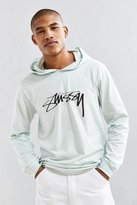 Stussy Smooth Stock Hooded Long Sleeve Tee