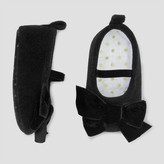 Just One You made by carter Baby Girls' Mary Jane with Velvet Bow - Just One You Made by Carter's® Black