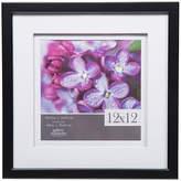 Asstd National Brand 12X12 Black W/ White Double Mat To 8X8 Frame