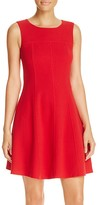 Armani Collezioni Piped Wool Dress