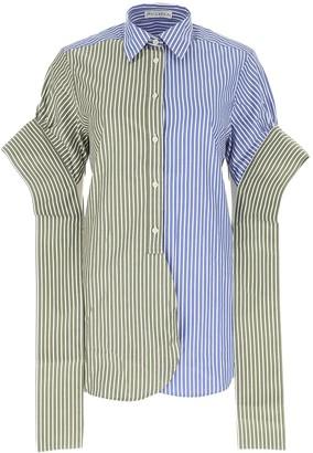 J.W.Anderson Striped Tab Shirt