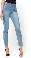 New York & Co. Soho Jeans - High-Waist Pull-On Legging - Blue Supreme Wash