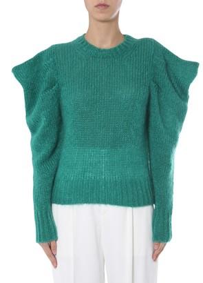 Isabel Marant Ruffle Knitted Sweater