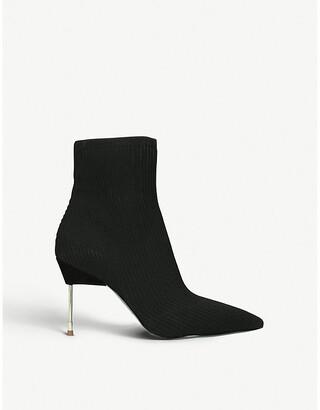 Kurt Geiger Barbican heeled sock boots