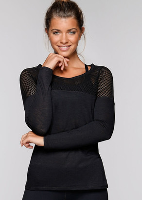 Lorna Jane Valley Long Sleeve Top