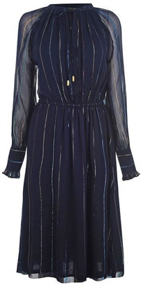 Biba Metallic Tunic Dress