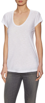 James Perse Cotton Slub Deep T-Shirt