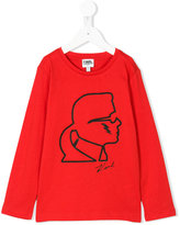 Karl Lagerfeld graphic top - kids - Cotton - 2 yrs