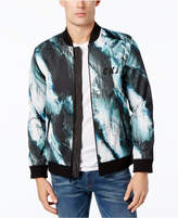 Calvin Klein Jeans Men's Printed Neoprene Bomber Jacket