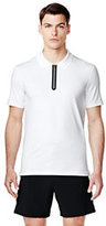 sport Men's Speed-zip Polo Shirt-Silver Frost
