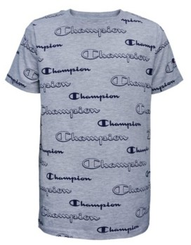 Champion Little Boys Aop Shadow Script Tee