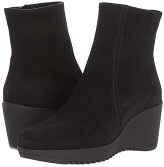 La Canadienne Gavyn (Black Suede) Women's Boots