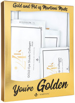 Martinni Beauty Masks You're Golden - 6Pc Gold Mask Set