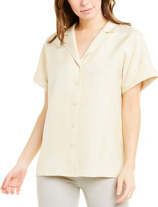 Lafayette 148 New York Beatrice Silk Blouse