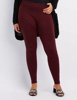 Charlotte Russe Plus Size Fleece Lined Leggings