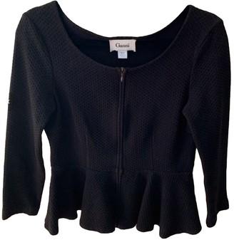 Ganni Black Cotton Knitwear for Women