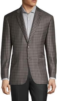 Brioni Check Wool Sport Coat