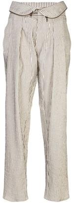 TRE by Natalie Ratabesi Foldover High Waist Trouser