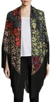 Missoni Fringed Embroidered Wrap