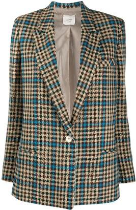 Alysi Prince of Wales check blazer