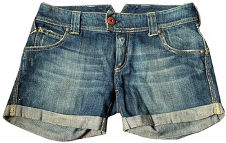 Cycle Blue Denim - Jeans Shorts for Women