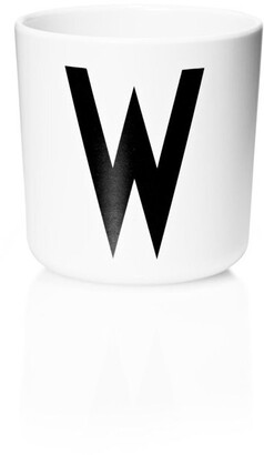 Design Letters Personal Melamine Cup - W