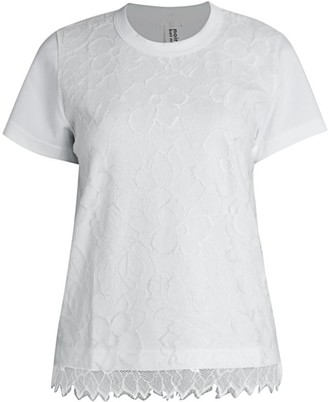 Noir Kei Ninomiya Lace T-Shirt