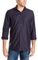 Stone Rose Men's Polka Dot Long-Sleeve Shirt