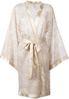 Dolci Follie lace kimono robe