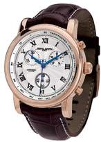 Jorg Gray JG7200-12 - Men's Swiss Chronograph Watch, Date Display, Sapphire Crystal, Leather Straps