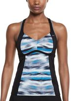 Nike Women's Gleam Ikat Racerback Tankini Top