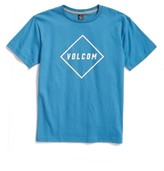 Volcom Boy's Pitcher Logo T-Shirt