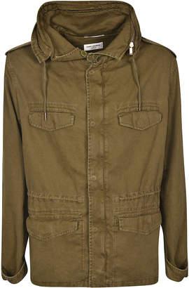 Saint Laurent Hooded Jacket