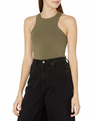 The Drop Women's @lucyswhims Fitted Cutaway Racer Tank Sweater