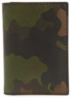 Jack Spade Men's Camo Leather Wallet - Green