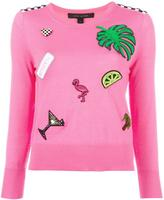 Marc Jacobs embellished knitted sweater - women - Wool - XS