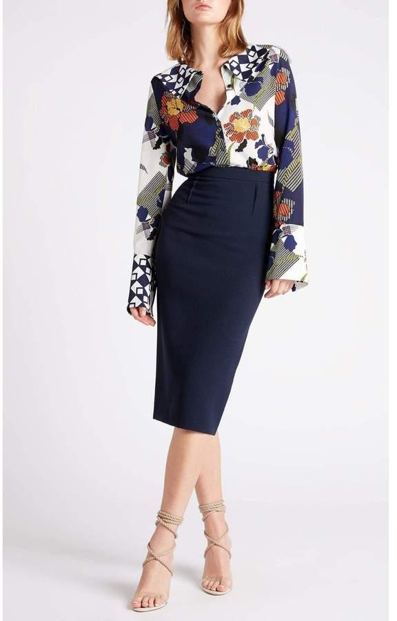 e6e1de0a8 Roland Mouret Arreton Skirt - ShopStyle