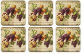 Pimpernel Abundant Fall Coasters (Set of 6)