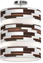Jefdesigns Tile 3 Triple Tiered Pendant Light