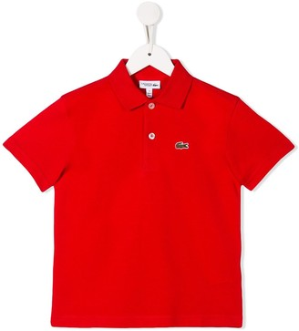 Lacoste Kids Logo Patch Polo Shirt